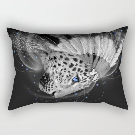 Don't Define the World (Chief of Dreams: Amur Leopard) Rectangular Pillow