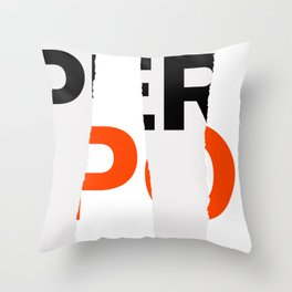 Fall Paper Expo (from Design Machine archives) Throw Pillow