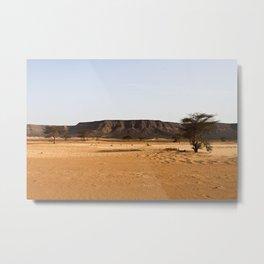 Saharan Plateau Metal Print
