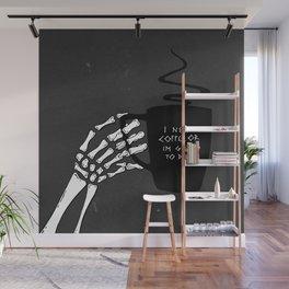 Black Coffee Wall Mural