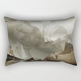 The Fortress Rectangular Pillow