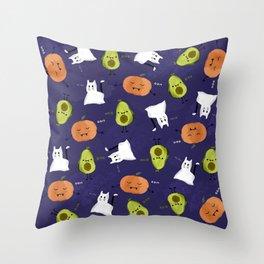 Cute Halloween Throw Pillow