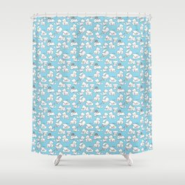 Kittens By Elise Seeley Shower Curtain