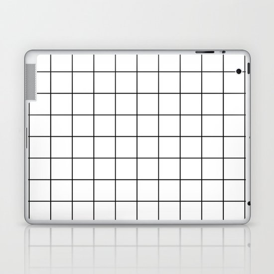 Grid Pattern Stripes Lines Black and White Minimalist Geometric Stripe Line by beautifulhomes