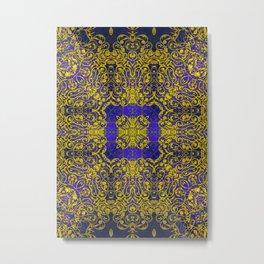 magic mandala 38 #mandala #magic #decor Metal Print
