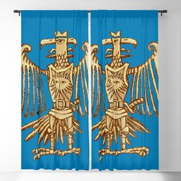 King of the bird knight and protector Blackout Curtain