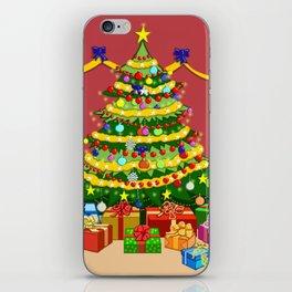 Presents under Christmas Tree iPhone Skin