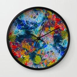 Painter's Palette Wall Clock