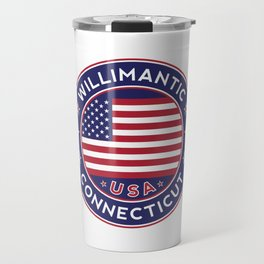Willimantic, Connecticut Travel Mug