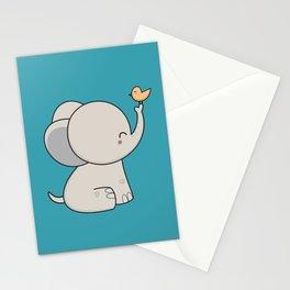 Kawaii Cute Elephant Stationery Cards