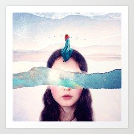Dream Journey :: Fine Art Collage Art Print