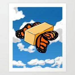 Butter Flys Art Print
