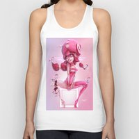 doll Tank Tops featuring Doll by Davide Tosello