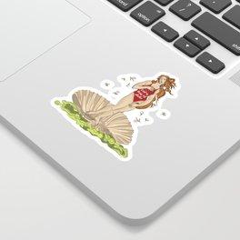 VENUS EAT A BAG OF DICKS Sticker