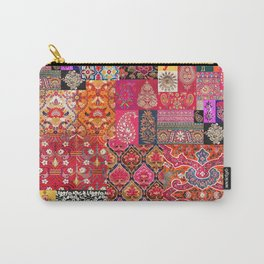 -A35- Traditional Colored Moroccan Artwork. Carry-All Pouch