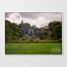 Belvedere Castle with Cloudy Conditions Canvas Print