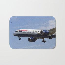 British Airways And Birds Bath Mat