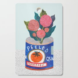 flowers & tomatoes Cutting Board