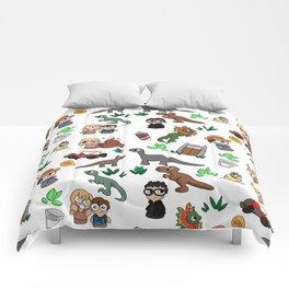 Jurassic Park Bits Comforters