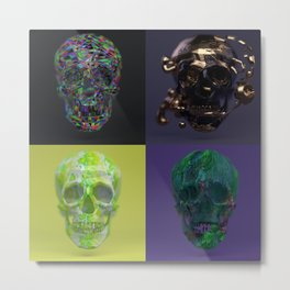 Skull Collection 01 Metal Print