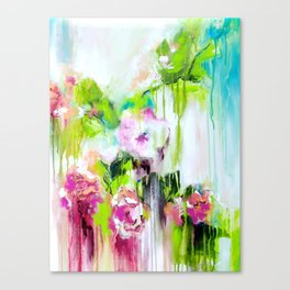 Color Me Pretty Orchids Canvas Print