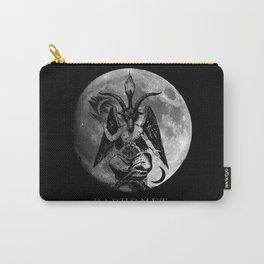 Baphomet Moon Carry-All Pouch