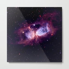 Galaxy : Celestial Storm Metal Print