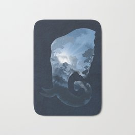 Elephants in the Night Bath Mat