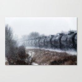Winter Locomotion Canvas Print