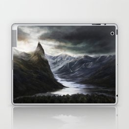 Ominous Mountains Laptop & iPad Skin
