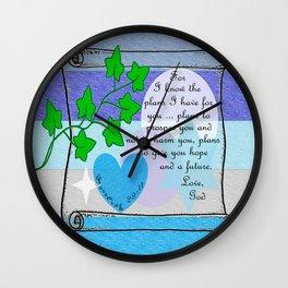 God's Plan Wall Clock