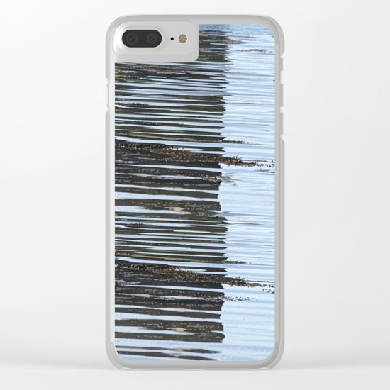 Reflections of a river, meanderings of a mind Clear iPhone Case