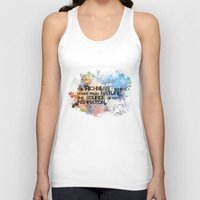 underwater Tank Tops featuring Underwater by Allison Reich