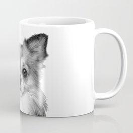 Black and White Chihuahua Coffee Mug