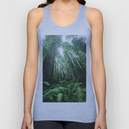 Redwood National Park- Pacific Northwest Nature Photography Unisex Tank Top