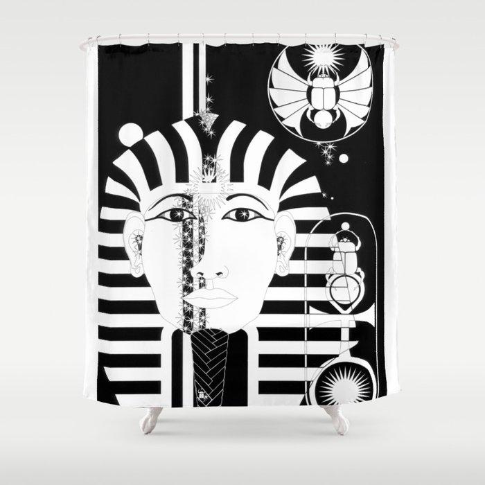 MAN: EGYPTIAN Shower Curtain