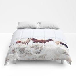 Winter Horseland Comforters