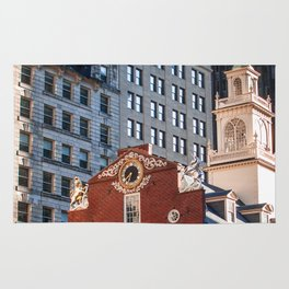 A Golden Day - Boston Old State House Rug