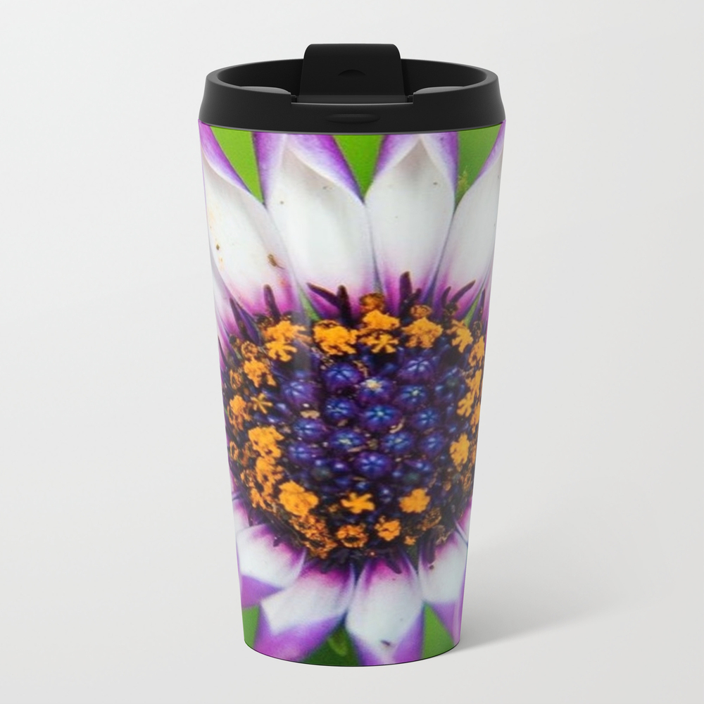 Osteospermum 'margarita White Spoon' Travel Mug TRM8924683
