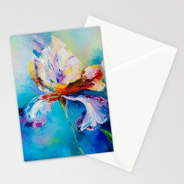 Iris family Stationery Cards