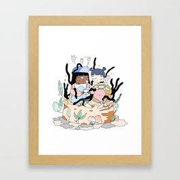 GA M E S Framed Art Print