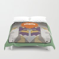 thor Duvet Covers featuring Thor by LostReach