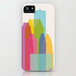 Shapes of Detroit iPhone Case
