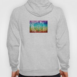 The Flower of Life & Metatron's Cube - The Rainbow Tribe Collection Hoody