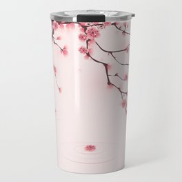 Oriental cherry blossom in spring 002 Travel Mug