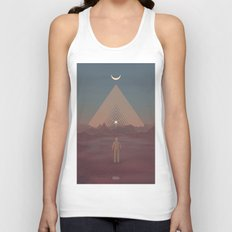 Lost Astronaut Series #01 - Enter the Void Unisex Tank Top