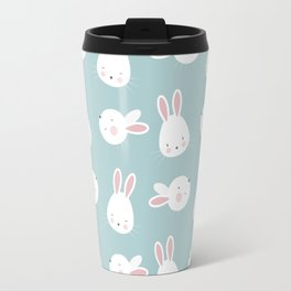 Cute Bunnies Travel Mug