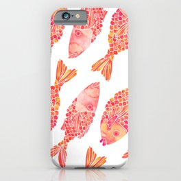Indonesian Fish Duo – Melon Palette iPhone Case