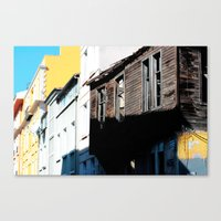 istanbul Canvas Prints featuring Istanbul  by cArt