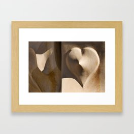 Love Gaudí Framed Art Print